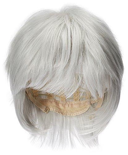 COSPLAZA Perruques Tokyo Ghouls Ken Kaneki Cosplay Wig Mens Short Halloween Party perruque