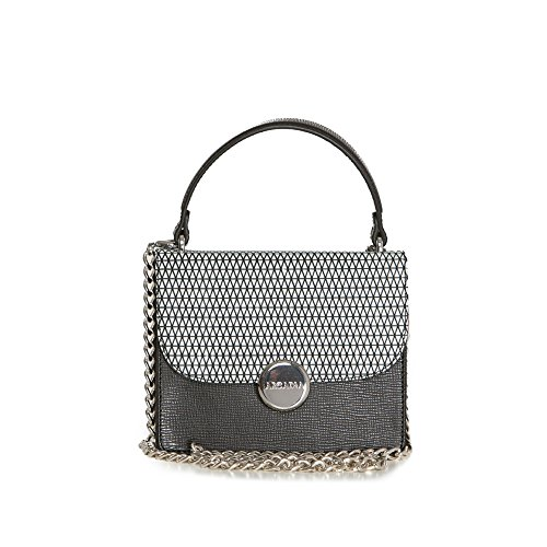 Arcadia Suzy cuir Frenzy épaule compact Sac gris foncé
