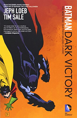 Batman Dark Victory TP (New Edition) by Tim Sale (Artist), Jeph Loeb (27-Feb-2014) Paperback