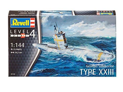 revell-05140-maquette-sous-marin-allemand-type-xxiii-gris-echelle-1-144-23-pieces