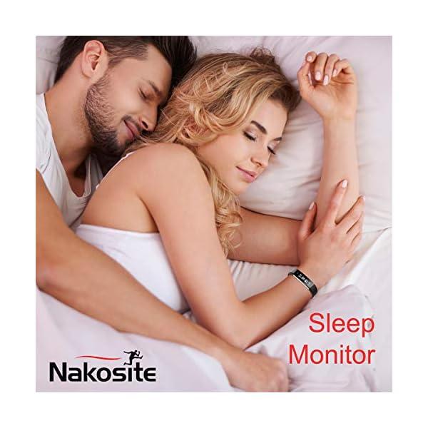 Nakosite RAY2433 Reloj inteligente Mujer Hombre SmartWatch pulsera Actividad relojes Inteligentes deportivo podometro… 5