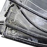 JNYZQ Tenda Impermeabile in PVC, Sole, Polvere, Pioggia: Adatta per Camion, Biciclette, Barche, Tende Impermeabili per Tende da Parabrezza per balconi, Stand gastronomici, teloni 730g / m2