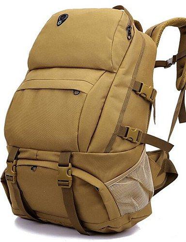 HWB/ 36-55 L Rucksack Camping & Wandern / Klettern / Legere Sport / Radsport / Reisen Drinnen / DraußenStaubdicht / Feuchtigkeitsundurchlässig acu color