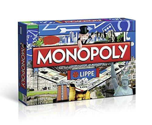 Winning Moves – 43669 – Monopoly Lippe Brettspiel, Gesellschaftsspiel