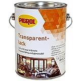 Pigrol Transparentlack für Holz Innen und Außen farblos 2,5L