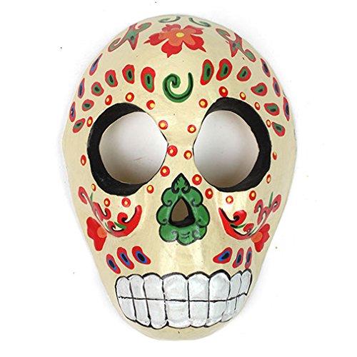 Candy Skull Maske–Creme ()