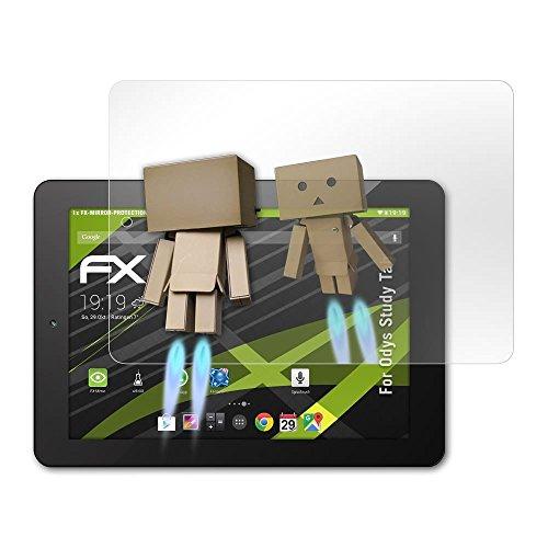 atFolix Bildschirmfolie kompatibel mit Odys Study Tab Spiegelfolie, Spiegeleffekt FX Schutzfolie