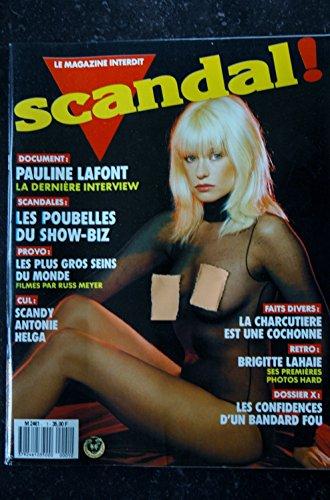 SCANDAL ! N° 1 BRIGITTE LAHAIE PAULINE LAFONT RICHARD ALLAN par Les Trésors d\'Emmanuelle