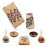 Reishunger Szechuan Pfannen Box (7-teilig, bis zu 4 Personen) Original Zutaten für chinesische Gerichte – Perfekt auch als Geschenk