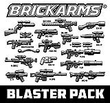 Brickarms Blaster Waffen Set für LEGO Figuren z.B. für Star Wars 22 tlg.