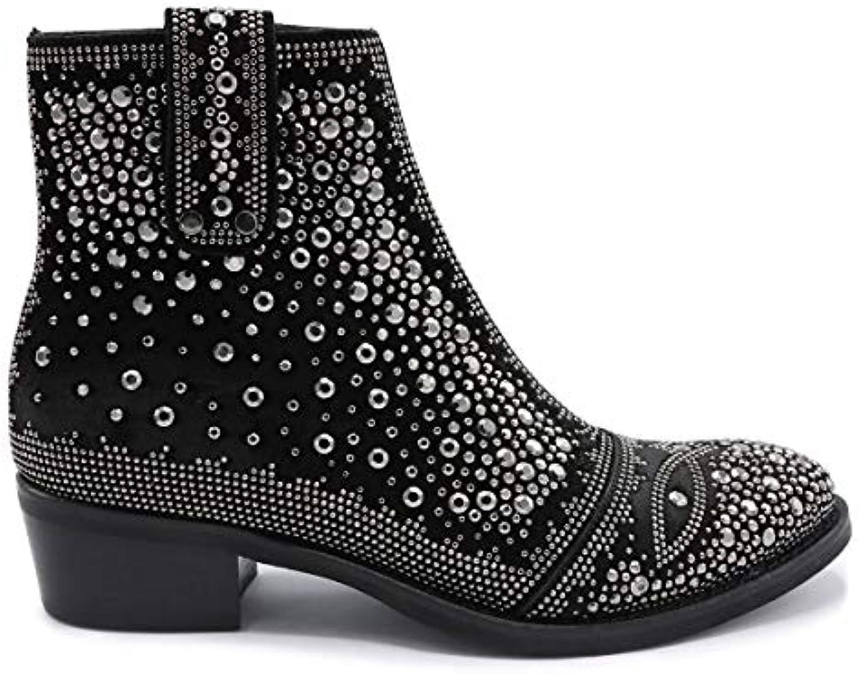 SEMERDJIAN - ER Boots Femmes - ER - 183 E5-38 NoirB07H52VLGMParent d87092