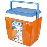 COOLBOX große Kühlbox 28 Liter für Picknick, Grillen, Wandern, Ausflüge, Urlaub