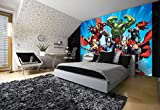Olimpia Design Fototapete Photomural Marvel Avengers, 1 Stück, 963P4 -
