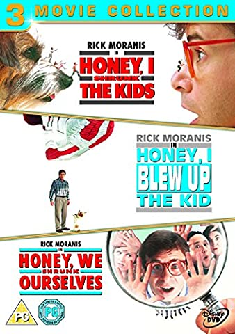 Honey, I Shrunk The Kids / Honey, I Blew Up The Kid / Honey, We Shrunk Ourselves [DVD]