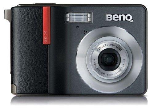 kamera (8 Megapixel, 3-fach opt. Zoom, 6,4 cm (2,5 Zoll) Display, Bildstabilisator) schwarz (Benq Digitalkamera)