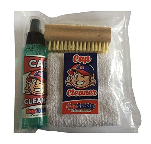 Preisvergleich Produktbild Cap Buddy Cap Cleaner Set Baseball Cap Reiniger für ALLE Baseballkappen inklusive Spray,  Bürste und Tuch