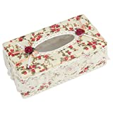 #10: TIED RIBBONS Tissue Box - Attractive and Beautiful Decorative Paper Napkin Dispenser Tissue Holder for your Home Car Dinning Table Office