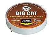 Big Cat Waller Vorfachschnur (20m / braun / 8 fach geflochten), Durchmesser:0.60mm
