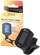 ENO ET-33 Mini Clip On Digital Chromatic Guitar Bass Violin Ukulele Tuner Super Anti-interference By A2Z Mart