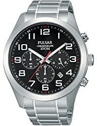 Pulsar Herren-Armbanduhr XL Sport Chronograph Quarz Edelstahl PT3661X1