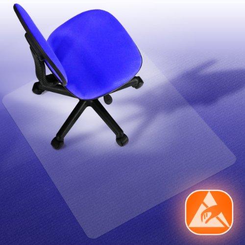 Performa® Antistatik Bodenschutzmatte für Teppiche und Teppichböden (120x150 cm)