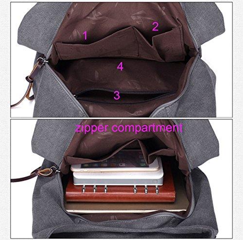Super Modern , Damen Schultertasche Rot violett, rot 28cm*13cm*30cm schwarz