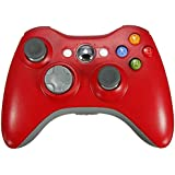 Stoga STB02 New Wireless Remote Pad Game Controller for Microsoft Xbox 360 PC Windows 7 XP Whit Joypad-Red