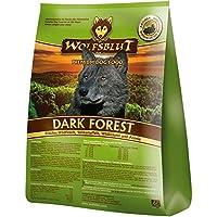 WOLFSBLUT Trockenfutter DARK FOREST Wildfleisch + Süßkartoffel Adult für Hunde 15,0 kg