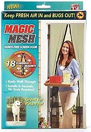 Magic Mesh Hands-Free Screen Net Magnetic Anti Mosquito Bug Home Door Curtain