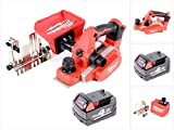 Milwaukee M18 BP - 401 18 V Akku Hobel + M18 B4 4,0 Ah Akku