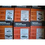 lot 24 revue technique automobile : chrysler 160 - ford transit - peugeot 304 - renault 12 - volkswagen K 70 - citroen cx 2000 - citroen GS 1220 - volkswagen golf - peugeot 204 etc...