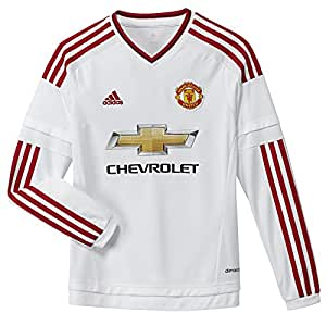 Manchester United Kids L/S Away Jersey 2015 - 2016