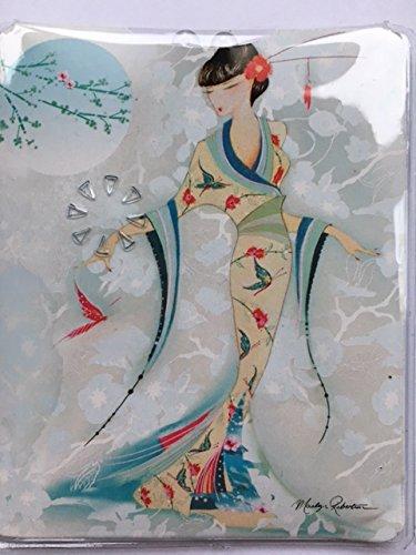 Maranda Ti Mi Taschenlampe Schmetterling Seide Kimono Handtasche Taschenlampe MT254 -