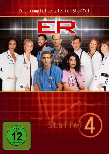 ER - Emergency Room, Staffel 04 [6 DVDs] (Clooney George Tv-serie)