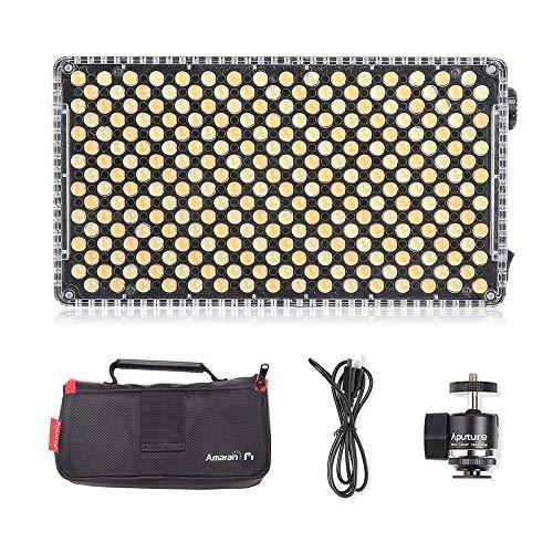 - Beleuchtung 2-licht-side-mount (Aputure Amaran AL-F7 LED Kamera Licht Bi-Color 3200K-9500K Adjustable Brightness LED Photo On Camera Light)