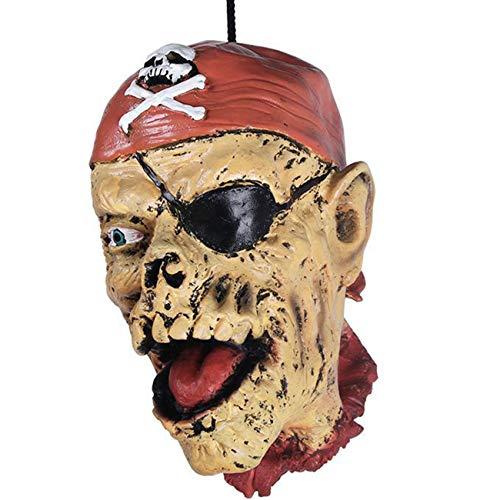 Halloween Deko Körperteile Halloween Dekorationen, Horror Kopf Monster Schädel Henker Höllen Deko Halloween Grusel Party Spaß ()