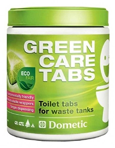 Dometic Green Care Power Tabs Holding Tank Freshener. Test