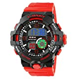 Best Digital Wristwatches - Time Wrap Red Speed Multi Function Black Review