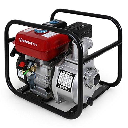 EBERTH 5,5 PS 2 Zoll Wasserpumpe Benzin Motor Pumpe - 2