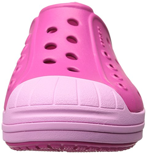 Crocs Bumper Toe, Chaussons Sneaker Mixte Enfant Candy Pink/Carnation