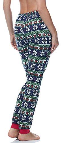 Ladeheid Pantaloni Pigiama per Donna LA40-121 Modello-3Vert