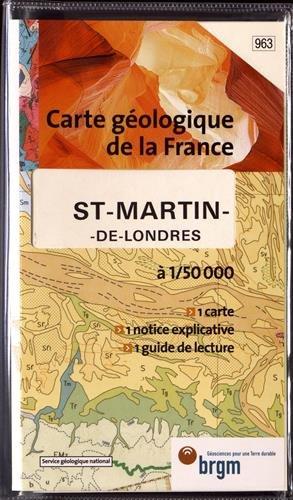 Carte géologique : St-Martin-de-Londres