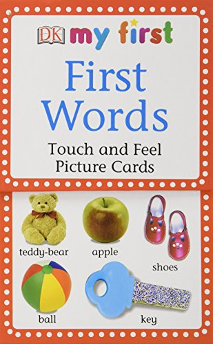 My First Touch & Feel Picture Cards: First Words (My First Touch and Feel Picture Cards)