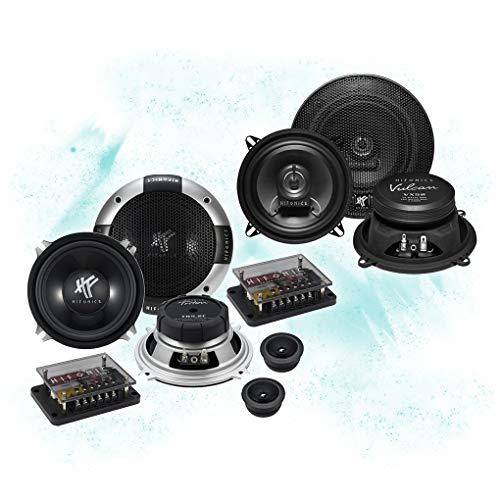 Hifonics Frontal/Trasera 13cm/130mm Auto Altavoz/Cajas/Speaker