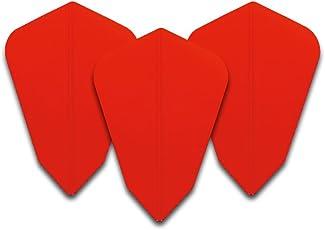 Red Dragon Red G String Dart Flights - 5 Sets pro Pack (15 Flights insgesamt) Checkout Card