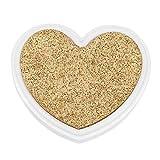 Prosperveil - Tampon encreur en forme de cœur - Non toxique - Sans danger pour les bébés - Pour le bricolage, le scrapbooking, la fabrication de cartes d'enfant doré