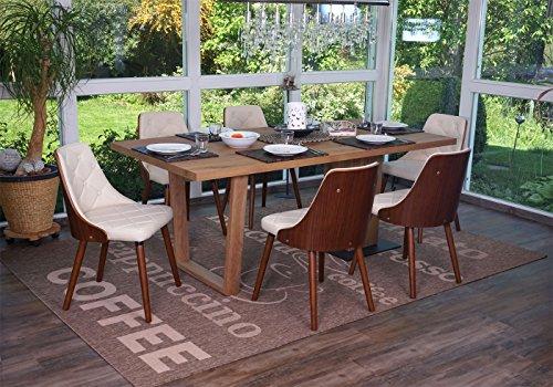 Sedie Sala Da Pranzo Ecopelle : Set sedie cucina sala da pranzo moderne con struttura in