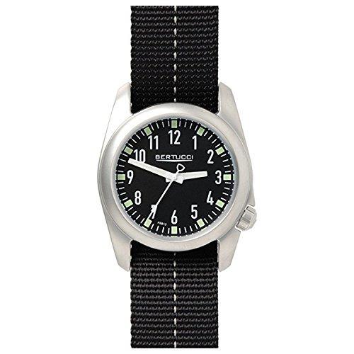 Bertucci 11069Green nylon Band 40mm in acciaio INOX Ventara orologio da uomo