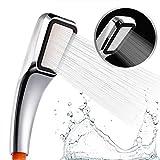 austor 300fori bagno soffione doccia, 30% Risparmio di Acqua con 300% ad alta pressione Boost–Cromato