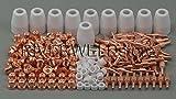 235pcs LG-40 PT-31 de aire de corte por plasma cortador Consumibles CUT-40 CUT-50D CT-312